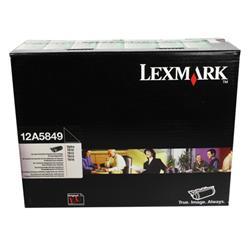 Lexmark T610N/SX/T612N/T614DX/T614NL/T616N Return Programme Laser Toner Black Ref 12A5849