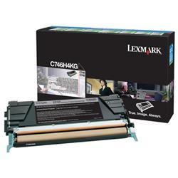 Lexmark Black High Yield Return Programme Toner Cartridge For C746/C748 Ref C746H3KG