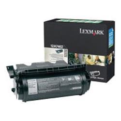 Lexmark T630/T632/T634 High Yield Return Programme Corporate Cartridge Black Ref 12A8244