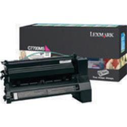 Lexmark C770 Return Programme Toner Cartridge Magenta Ref C7700MS