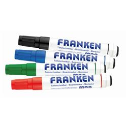 Franken CombiMarkers MagWrite Line Width 1 - 3mm 1 Each In Red Blue Green Black Ref Z1703