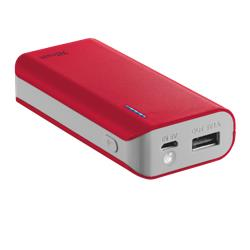 Image of Caricatore Portatile Power Bank 4400 Trust -rosso - 19856