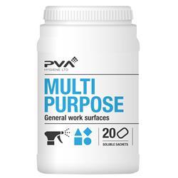 PVA Multi-purpose Cleaner Sachets Citrus Ref 4018002 [Pack 20]