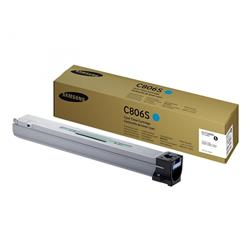 Samsung C806S (Yield 30,000 Pages) Cyan Toner Cartridge for X7400/X7500/X7600 Series Printers