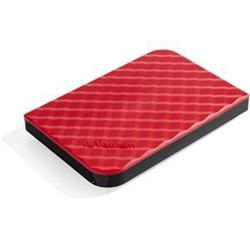 Verbatim Hard Drive USB 3.0 1TB Red Ref 53203