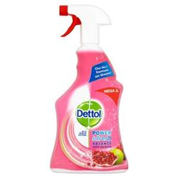 Dettol Power Fresh Pomegranate Antibacterial Multi Purpose Cleaner Trigger Spray 1 Litre Ref 3007938