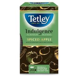 Tetley Indulgence Teabags String & Tag Spiced Apple Ref 4001A [20 Bags]