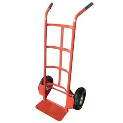RelX Hand Trolley Heavy-duty Capacity 200kg Wheel 255mm Foot Size W555xL425mm Red Ref HT1830 - 321428