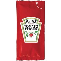 Heinz Tomato Ketchup Sachets Single Portion Ref HEI001 [Pack 200]
