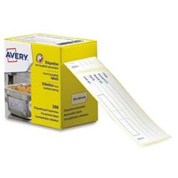 Avery Food Traceability Labels Roll Removable Pre-printed Microperforated Ref ETIHACCP.UK [300 Labels]
