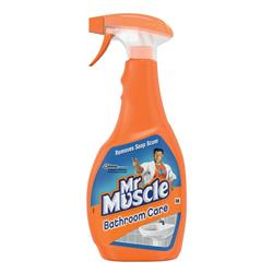 Mr Muscle Bathroom Cleaner Spray Bottle 5 in 1 500ml Ref 1005055