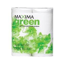Maxima Toilet Rolls 2-Ply 320 Sheets White Ref 1102047 [Pack 36]