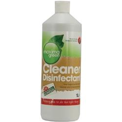 Maxima Green Disinfectant Cleaner 1 Litre Ref 1014157