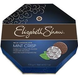 Elizabeth Shaw Mint Crisp Milk Chocolate 175g Ref F5203 [Pack 28]