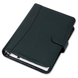 Collins Balmoral Personal Organiser Leather With 2017 Diary Insert 172x96mm Black Ref PR4699
