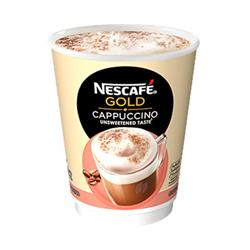 Nescafe & Go Cappuccino Foil-sealed Cup for Drinks Machine Ref 12310642 [Pack 8]