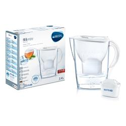 Brita Maxtra Plus Marella Water Filtering Jug White Ref 1029670