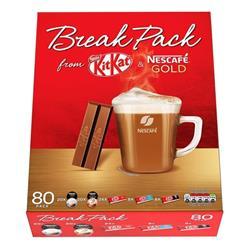 Nestle Break Pack Kit-Kat and Nescafe Coffee Ref 12338657