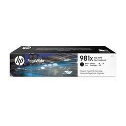 HP 981X High Yield Black Original Page Wide Cartridge L0R12A