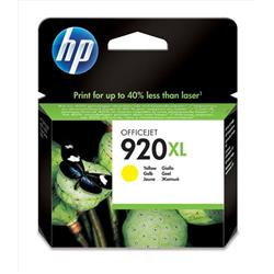 HP 920XL High Yield Yellow Original Ink Cartridge (CD974AE) - Up to £30 Cashback