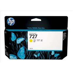 Hewlett Packard (HP) No. 727 Designjet Inkjet Cartridge 130ml Yellow Ref B3P21A