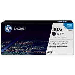 Hewlett Packard HP No. 307A Laser Toner Cartridge Page Life 7000pp Black Ref CE740A