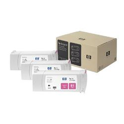HP Inkjet Dye Cartridge No. 81 Magenta 680 ml Ref C5068A (Pack 3)