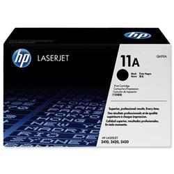 Hewlett Packard HP 11a Black Laser Toner Cartridge for LaserJet 2410/2420/2430 Ref Q6511A
