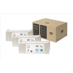 HP Inkjet Dye Cartridge No. 83 UV Light Cyan 680 ml Ref C5076A (Pack 3)