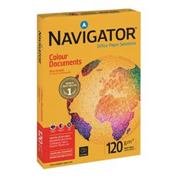 Navigator Colour Documents Ultra Smooth Paper 120gsm A4 White Ref NCD1200009 - 250 Sheets