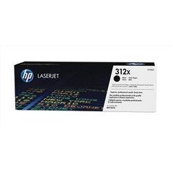 Hewlett Packard (HP) 312X Laser Toner Cartridge High Yield Page Life 4400 Black Ref CF380X