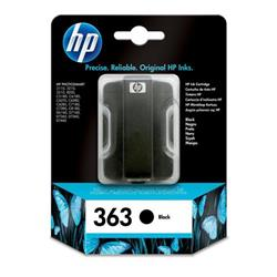 Hewlett Packard (HP) No. 363 Inkjet Cartridge Page Life 410pp 6ml Black Ref C8721EE #ABB