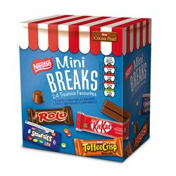 Nestle Mini Breaks Mixed Assorted Ref 12369978 [Case 10 x 24]