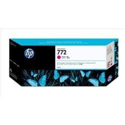 Hewlett Packard HP No. 772 Inkjet Cartridge Designjet 300ml Magenta Ref CN629A
