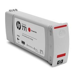 HP 771 Chromatic Red Ink Cartridge 775ml (3-Pack) for DesignJet Printers