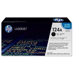 Hewlett Packard HP No. 124A Laser Toner Cartridge Page Life 2500pp Black Ref Q6000A