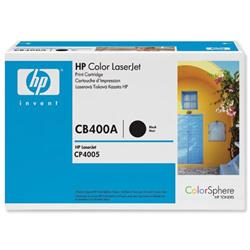 Hewlett Packard HP No. 642A Black Print Cartridge with ColorSphere Toner Ref CB400A