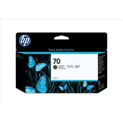 Hewlett Packard [HP] No. 70 Inkjet Cartridge 130ml Matt Black Ref C9448AA
