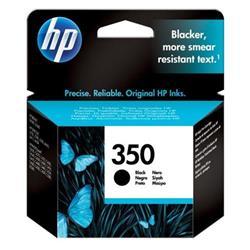 Hewlett Packard HP No. 350 Black Inkjet Print Cartridge Ref CB335EE