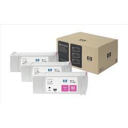 HP Inkjet Dye Cartridge No. 83 UV Magenta 680 ml Ref C5074A (Pack 3)