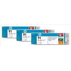 HP Ink Cartridge No. 91 Light Magenta 775 ml Ref C9487A