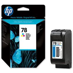 Hewlett Packard HP No. 78 Colour Inkjet Cartridge Ref C6578D