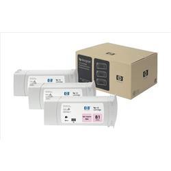 HP Inkjet Dye Cartridge No. 81 Light Magenta 680 ml Ref C5071A (Pack 3)