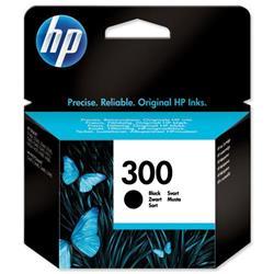 Hewlett Packard HP 300 Black Inkjet Cartridge for Deskjet D2560 Ref CC640EE