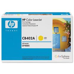 Hewlett Packard HP No. 642A Yellow Print Cartridge with ColorSphere Toner Ref CB402A