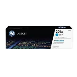 Hewlett Packard (HP) 201X Laserjet Toner Cartridge Cyan High Yield Ref CF401X