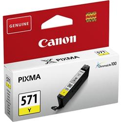 Canon CLI-571 InkJet Cartridge Page Life 340pp Yellow Ref 0388C001