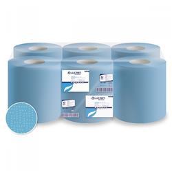 Rotoli asciugamano e multiuso Lucart - pura cellulosa - 2 veli - 450 strappi - conf. 6
