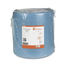 5 Star Facilities Cloths Super Absorbent Low Lint Solvent-resistant 60gsm 30x36cm Blue [Roll 500]