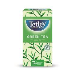 Tetley Individually Enveloped Tea Bags Pure Green Tea Ref 1293A Pack 25